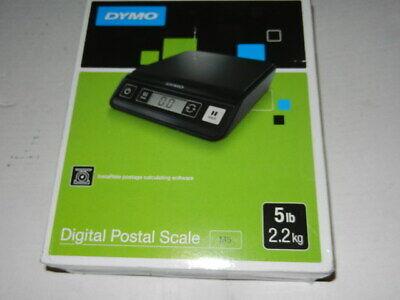 Open No Warranty Dymo Digital Postal Scale M5 5lbs 2.2kg Black M 5 Lbs 2.2 Kg