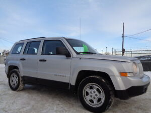 2011 Jeep PATRIOT SPORT-LEATHER-SEATS-2.4L 4 CYL--5 SPEED MANUAL