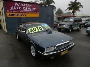 1988 Jaguar Sovereign Blue 4 Speed Automatic Sedan Waratah Newcastle Area Preview