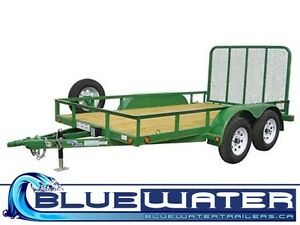 "Load Trail Tandem Axle Utility 4"" Channel & drop axle 7,000lb"