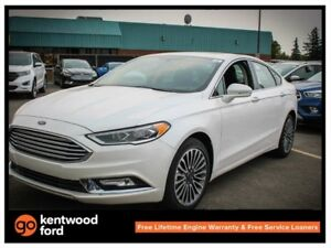 2017 Ford Fusion SE luxury pkg 202A, NAV, moonroof, heated front