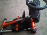 Wheel stand pro with T80 racing wheel