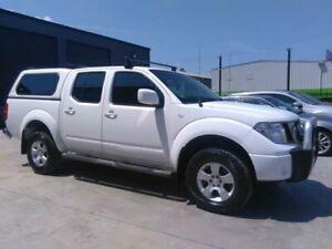 2011 Nissan Navara D40 ST (4x4) White 6 Speed Manual Dual Cab Pick-up Mowbray Launceston Area Preview