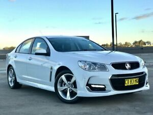 2016 Holden Commodore VF II MY16 SV6 Heron White 6 Speed Sports Automatic Sedan Blacktown Blacktown Area Preview