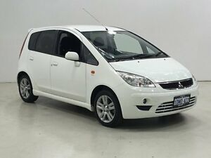 2010 Mitsubishi Colt RG MY11 VR-X White 5 Speed Manual Hatchback Edgewater Joondalup Area Preview