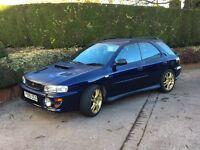 1999 Subaru Impreza Turbo 2000 Wagon (UK spec) - very low mileage!
