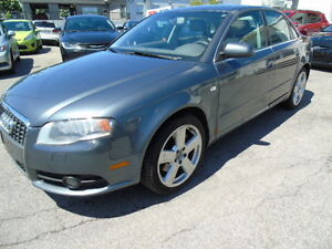 2008 Audi A4 3.2L Sedan  /sunroof /AWD/Leather
