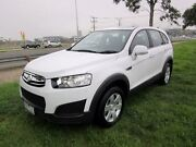 2014 Holden Captiva CG MY14 7 LS (FWD) White 6 Speed Automatic Wagon Hoppers Crossing Wyndham Area Preview