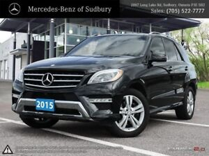 2015 MERCEDES M-CLASS ML350 - OUTSTANDING DIESEL ENGINE WITH A R