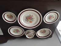 Old English Johnson Brothers antique dishes