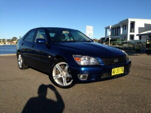 2004 Lexus IS200 GXE10R Sports Luxury Blue 4 Speed Automatic Sedan Sylvania Sutherland Area Preview