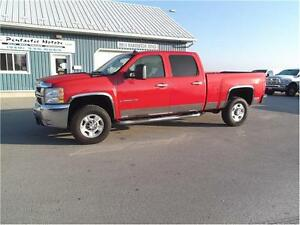 2007 Chevrolet SILVERADO 2500HD LTZ,DIESEL,CREW,4X4,LEATHER,LOAD