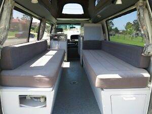 Toyota Hiace Camper – 1 OWNER – SINGLE BEDS Glendenning Blacktown Area Preview