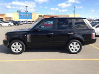 Range Rover Black on Beige Only 155,000kms! New grill+tires!