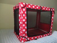 BRIGHT AND CHEERFUL DOG CAGE/CRATE