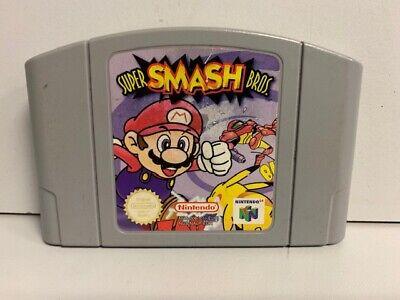 Super Smash Bros. - Nintendo 64 N64 Original Game UK PAL