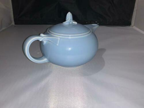 Lu-Ray Pastels made in the USA tea pot in Blue 11-15-2019