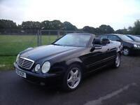 MERCEDES CLK CLK430 AVANTGARDE, Black, Auto, Petrol, 2002