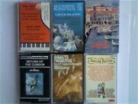 WM WORLD MUSIC PRERECORDED CASSETTE TAPES CHILE GERMANY, 3x GREECE, SPAIN. MANY MORE IN OTHERS ADS.