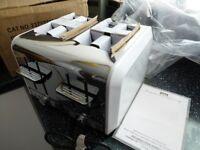 EGL 4 SLICE WHITE DIAMOND TOASTER--NEW --BOXED