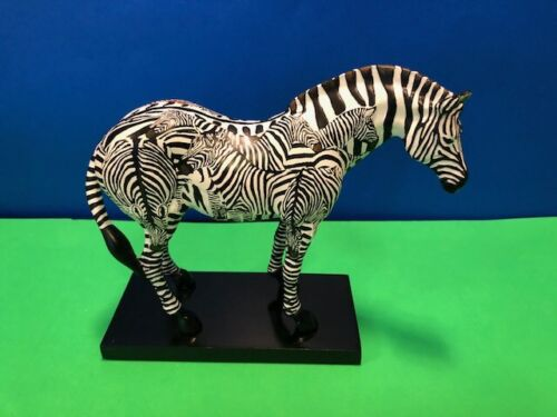 INCOGNITO (Zebra) 3E/ 1,875 (Trail of Painted Ponies by Westland ) 2005