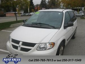 2006 Dodge Caravan SE LOW KM!