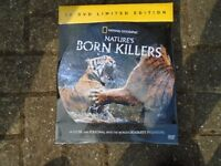 LIMITED EDITION 10 DVDS SET CLOSE AND PERSONAL DEADLIEST PREDATORS