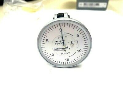 Interapid 1-12 Dial Test Vertical Indicator 312b-1v 74.111377 - New In Box