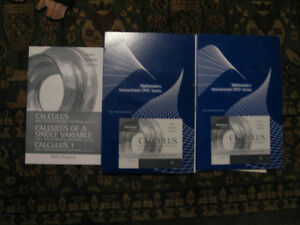 Calculus: Early Transcendental Functions 11 DVD SET / MATH St. John's Newfoundland image 1