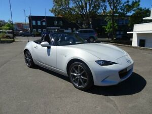 2018 Mazda MX-5 ND GT RF SKYACTIV-Drive Ceramic White 6 Speed Sports Automatic Targa Nowra Nowra-Bomaderry Preview