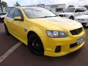 2011 Holden Commodore VE II SV6 Yellow 6 Speed Sports Automatic Sedan East Bunbury Bunbury Area Preview