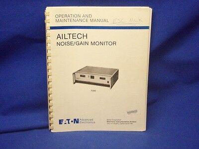 Ailtech 7380 Operation Maintenance Manual