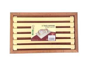 TAGLIAPANE-IN-LEGNO-CILIEGIO-CON-FONDO-ESTRAIBILE-TAGLIERE-PER-PANE-38X23X2