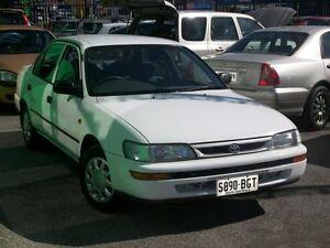 1999 Toyota Corolla AE101R CSi White 3 Speed Automatic Nailsworth Prospect Area Preview