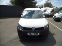 Volkswagen Caddy L1 H1 1.6 75PS STARTLINE EURO 5 DIESEL MANUAL WHITE (2014)