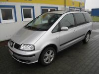 2005 Seat Alhambra 1.9TDI 6 Speed Manual Full MOT Very Economical 7 Seater with Reverse Cam + SatNav