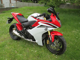 Honda CBR 600 FA-C ABS SPORTS TOURING MOTORCYCLE