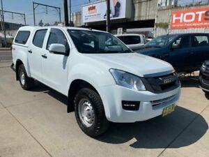 2015 Isuzu D-MAX MY15 SX Crew Cab White 5 Speed Sports Automatic Utility Granville Parramatta Area Preview