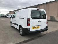 Peugeot Partner L2 716 1.6HDI 92PS CREW VAN, AIR CON DIESEL MANUAL WHITE (2015)