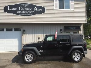 2008 Jeep Wrangler Unlimited X-Stick, AC, 4 door, hard/soft top