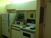 Cabinets, countertops and sink.