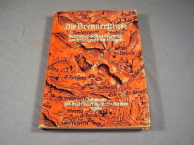 Die Brennerstrasse Band 1  Jahrbuch des Südtiroler Kulturinstitutes
