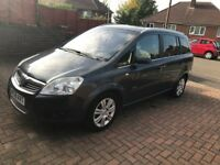 VAUXHALL ZAFIRA ELITE (TOP SPEC/ FULL LEATHER )- 1.9 CDTI - 7 SEATER DIESEL