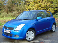 SUZUKI SWIFT 1.3 GL 3d 91 BHP (blue) 2006