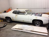 Looking for a 1969 Pontiac 2+2 project