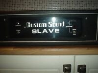CUSTOM SOUND SLAVE.