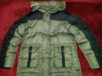 Debenhams Boys Coat, Age 9-10 Years
