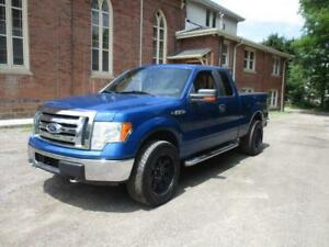 2009 Ford F-150 BLUE WITH NICE WHEELS! 4X4    $8999