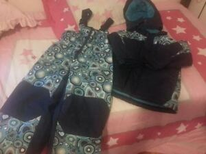 Winter Jacket with matching snow pants! Size 5