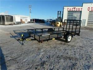 6.5 x 14 SINGLE AXLE UTILITY BY BIG TEX – RADIAL TIRES, RAMPGATE